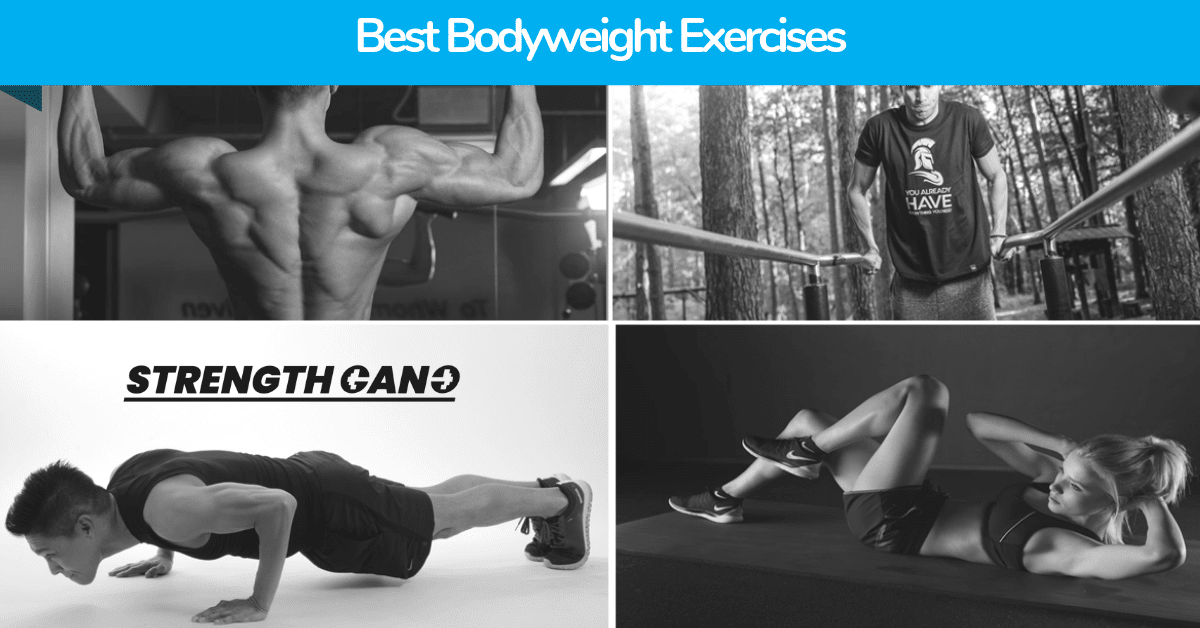 list of the top bodyweight exercises