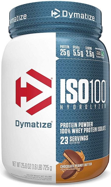 Post-workout CrossFit protein powder from Dymatize