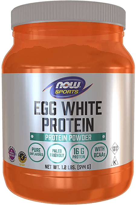 Egg white protein powder for CrossFit athletes by NOW Sports
