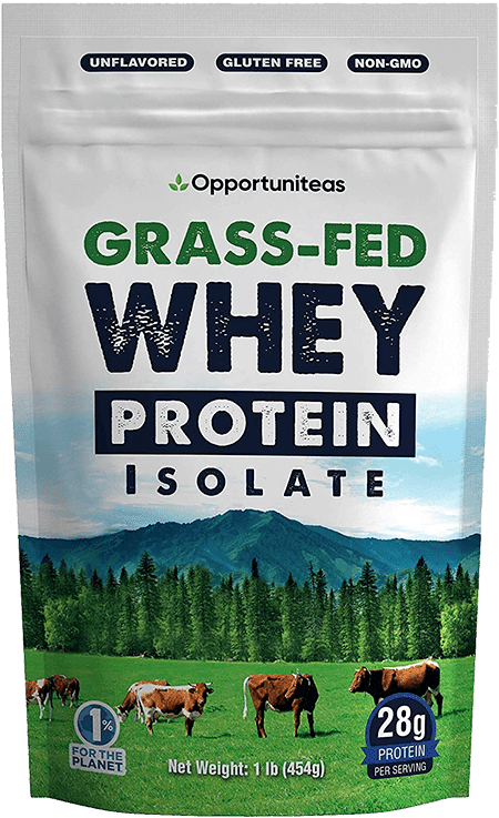 Opportuniteas grass fed protein powder without artificla sweeteners