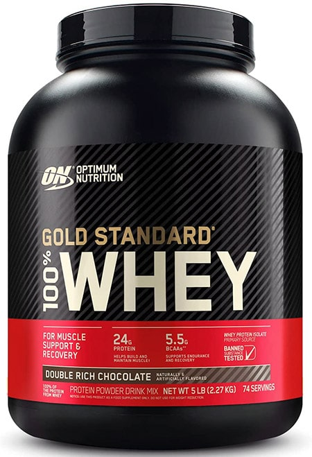 Optimum Nutrition whey protein supplement for teens