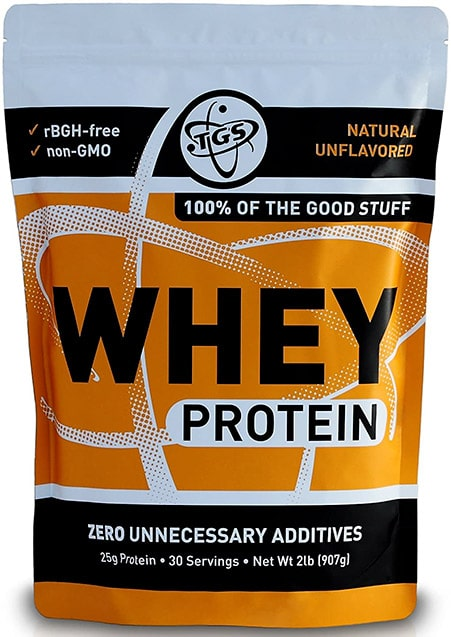 Protein without artificial sweeteners from TGS